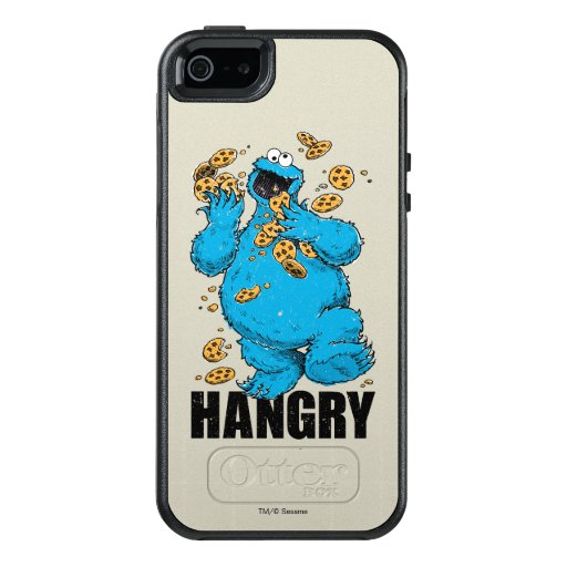 Retro Cookie Monster | Hangry OtterBox iPhone 5/5s/SE Case