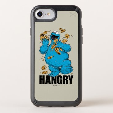 Retro Cookie Monster | Hangry Speck iPhone Case