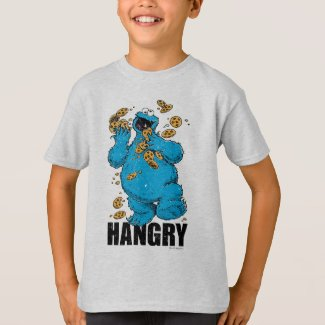 Retro Cookie Monster | Hangry T-Shirt
