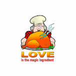 Retro Cooking Design.Love Is The Magic Ingredient. Photo Cut Outs