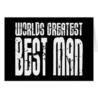 Retro Cool Best Men World s Greatest Best Man Cards