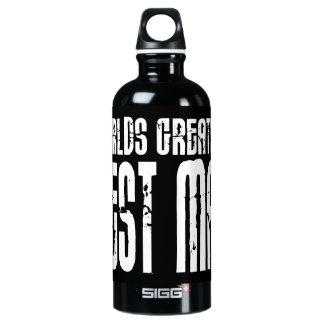 Retro Cool Best Men : World's Greatest Best Man Water Bottle