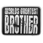 Retro Cool Brothers : World's Greatest Brother Sleeves For MacBook Pro