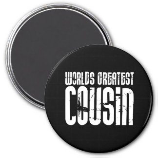 Retro Cool Cousins : World's Greatest Cousin Magnets