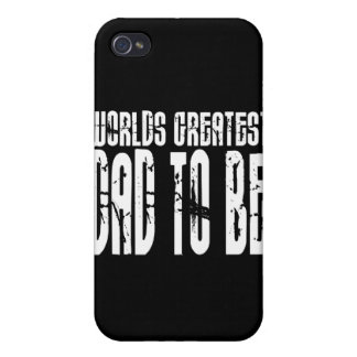 Retro Cool Dads to Be : World's Greatest Dad to be Case For iPhone 4