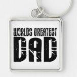 Retro Cool Dads : World's Greatest Dad Keychains