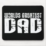 Retro Cool Dads : World's Greatest Dad Mouse Pad