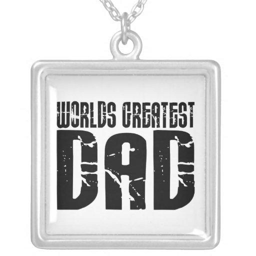 Retro Cool Dads : World's Greatest Dad Custom Jewelry