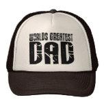 Retro Cool Dads : World's Greatest Dad Trucker Hat