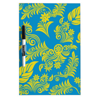 Retro cool floral pattern! dry erase boards