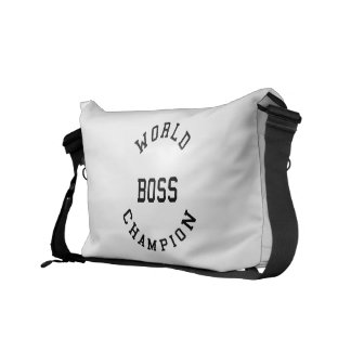 Retro Cool Gifts for Bosses World Champion Boss Courier Bag