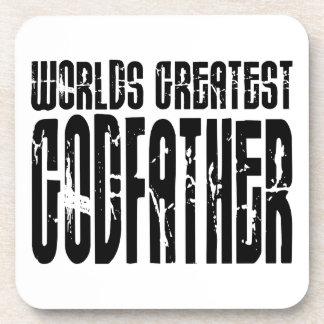 Retro Cool Godfathers : World's Greatest Godfather Coasters
