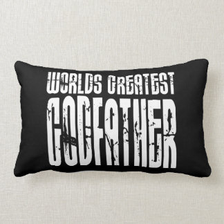 Retro Cool Godfathers : World's Greatest Godfather Throw Pillows