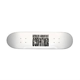 Retro Cool Godfathers : World's Greatest Godfather Skateboards