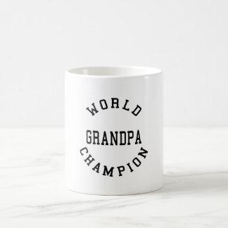 Retro Cool Grandpas Gifts World Champion Grandpa Coffee Mug