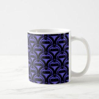 Retro Cool Mug, Royal Blue Classic White Coffee Mug