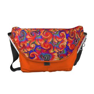 Retro Cosmic Swirl Bag