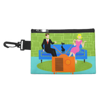 Retro Couple with Clip On Accessory Bag