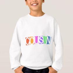 Kids' Hanes ComfortBlend® Sweatshirt with Retro Cousin design