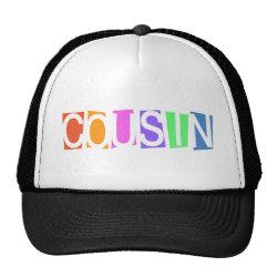 Trucker Hat with Retro Cousin design