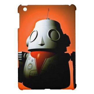 Retro Cropped Toy Robot 01 iPad Mini Cases