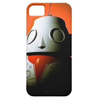 Retro Cropped Toy Robot 01 iPhone SE/5/5s Case