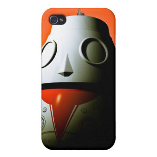 Retro Cropped Toy Robot 01 Speck Case