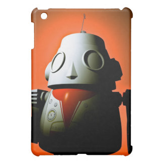 Retro Cropped Toy Robot 01 Speck Case Cover For The iPad Mini