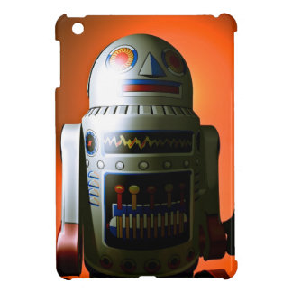Retro Cropped Toy Robot 02 iPad Mini Cases