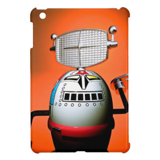 Retro Cropped Toy Robot 03 Case For The iPad Mini