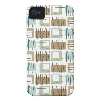 Retro Crosshatch Patterned Case-Mate ID™ iPhone 4 iPhone 4 Case