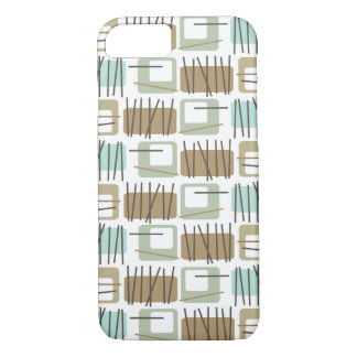 Retro Crosshatch Patterned ID™ iPhone 7 case