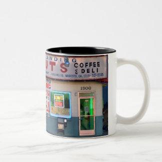 """Retro """"Crows Landing Donuts"""" Coffee Mug"""