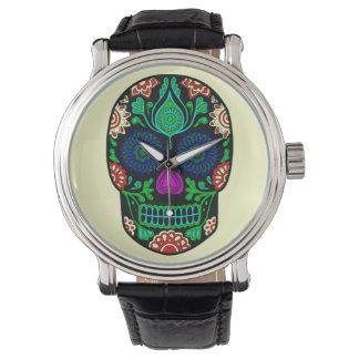 Retro Crystal Skull Watch