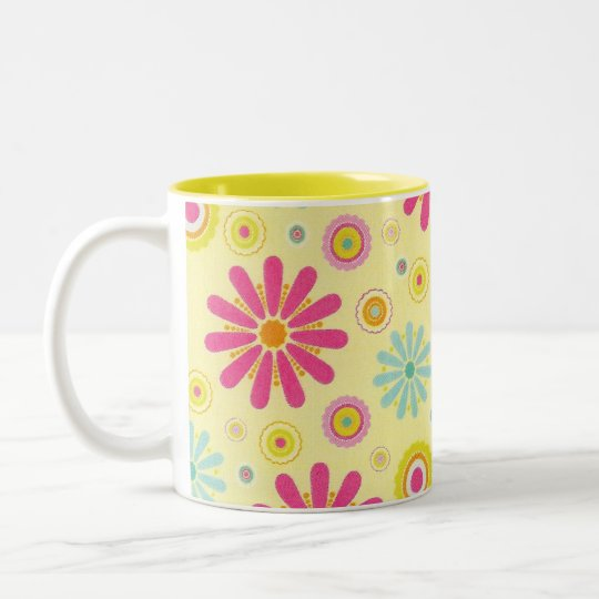 Retro Cup-Can go onany zazzle drink item available Two-Tone Coffee Mug