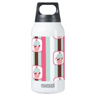 Retro Cupcake Birthday Party Thermos Water Bottle
