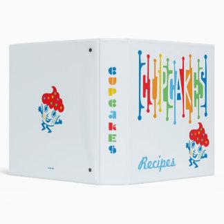 Retro Cupcakes - binder