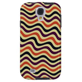 Retro Curve Colored Samsung Galaxy S4 Case