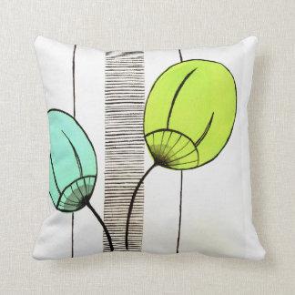 Retro cussion throw pillow
