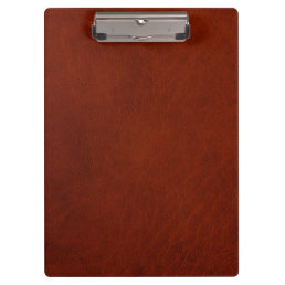 Retro Custom Leather Clipboard