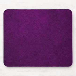 Retro Custom Purple Leather Mouse Pad