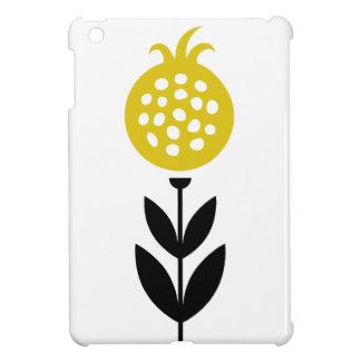 Retro Custom Yellow Tulip Bulb Flower Case For The iPad Mini