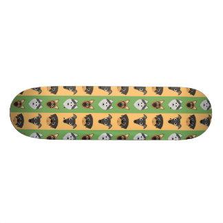Retro Cute Dog Pattern Skate Boards