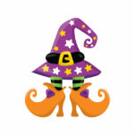 "Retro Cute Halloween Cutout<br><div class=""desc"">This is an adorable Halloween design. Perfect for your Halloween party celebration.</div>"
