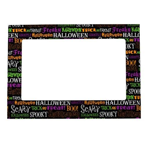 Retro Cute Halloween Magnetic Frame