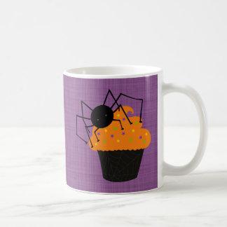 Retro Cute Halloween Spider Cupcake Coffee Mugs