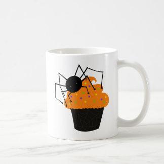 Retro Cute Halloween Spider Cupcake Mug