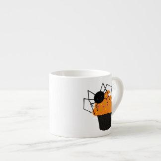Retro Cute Halloween Spider Cupcake Espresso Cup