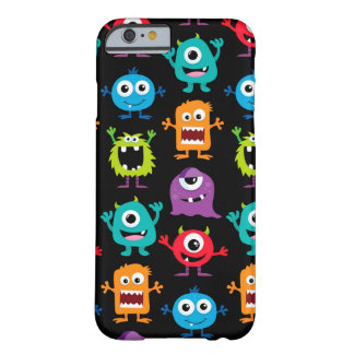 Retro Cute Monster Pattern Barely There iPhone 6 Case