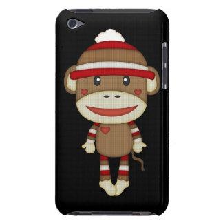 Retro Cute Sock Monkey iPod Touch Cases